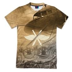 Мужская футболка 3D с полной запечаткой Авиация