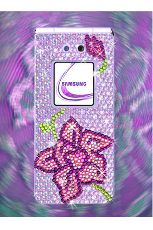 Samsung Swarovski E870 «Орхидея»