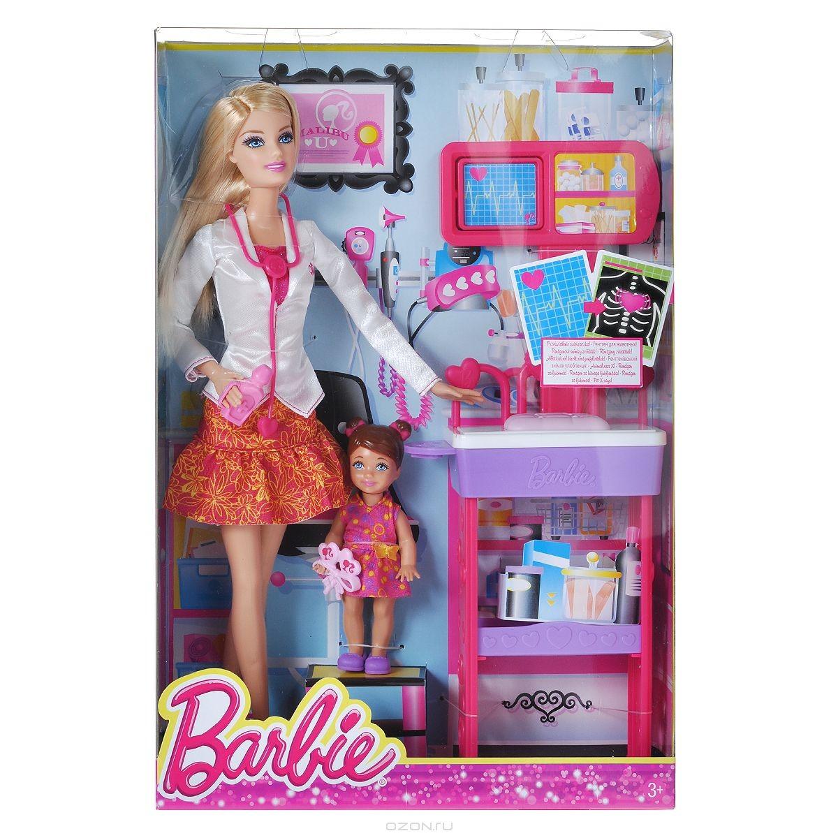Кукла Barbie Доктор