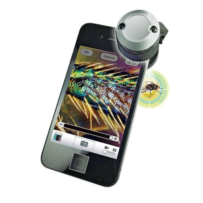 Микроскоп для телефона Microscope Phone 30х