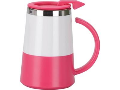 Розовая термокружка