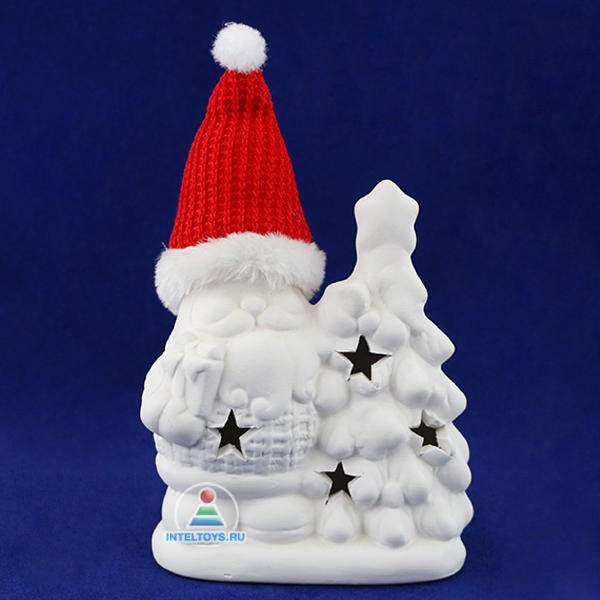 Набор для творчества «Дед Мороз» с LED-подсветкой Bondibon