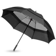 Черный механический зонт-трость Cardiff