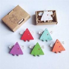 Деревянная брошь Геометрия треугольника