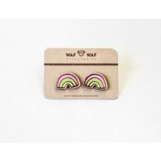 Сережки WafWaf Радуги