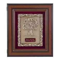 Настенная ключница Древо изобилия (цвет - орех)