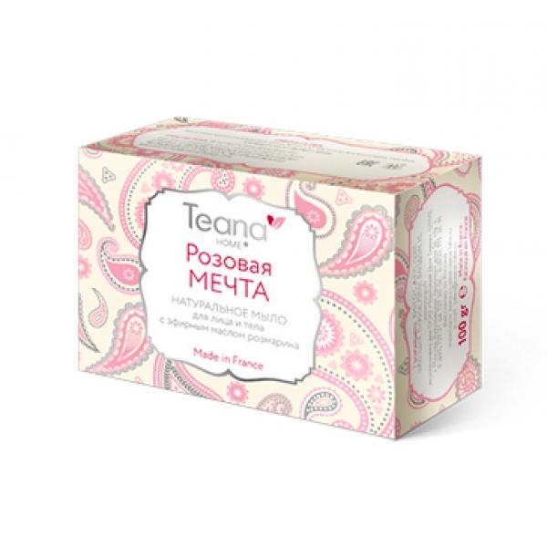 Натуральное мыло с маслом розмарина Розовая Мечта, 100 г