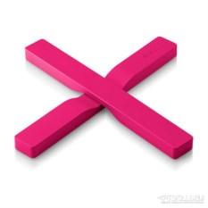 Розовая магнитная подставка под горячее Magnetic trivet