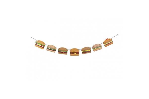 Гирлянда для вечеринки Burger