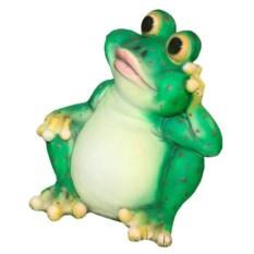 Декоративная садовая фигура Лягушка-великан №2