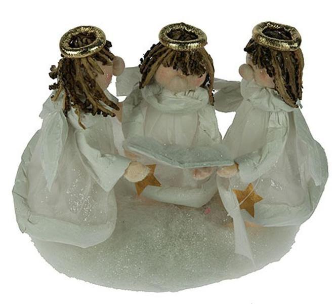Новогодняя композиция Поющие ангелочки