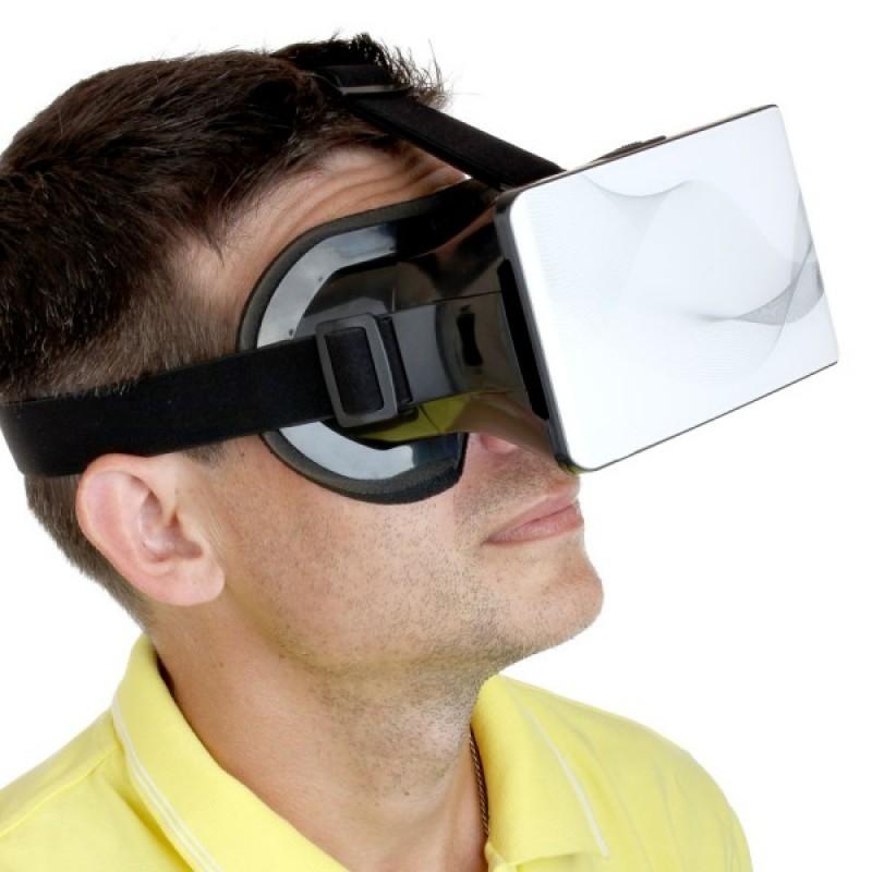 Белые очки виртуальной реальности D601