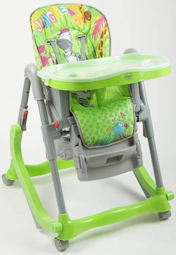 Стульчик для кормления Leader Kids RT-004, цвет: зеленый