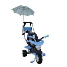 Трехколёсный велосипед Амиго №3 с ограждением и клаксоном