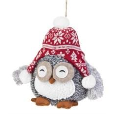 Мягкая игрушка Совушка в шапочке