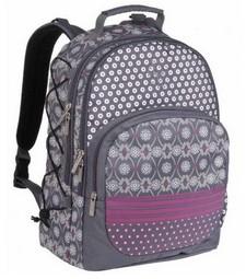 Пепельно-серая сумка-рюкзак «Мультимикс»