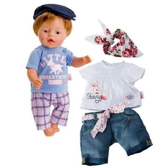 Одежда На отдыхе для  куклы Baby Born