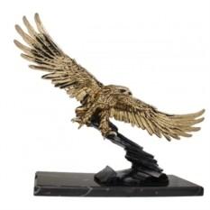 Скульптура Золотой парящий орел