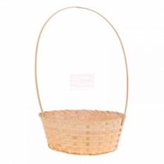 Плетёная корзина Бамбук овальной формы