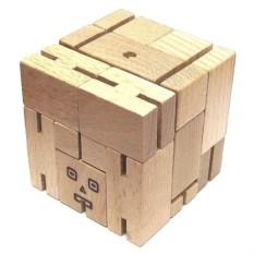 Деревянная головоломка Робот-трансформер