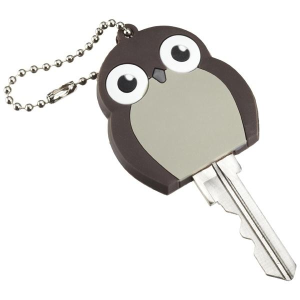Чехол для ключей с подсветкой Сова