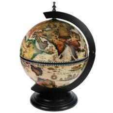 Глобус-бар Мир, диаметр 33 см