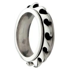 Оловянное кольцо Wave Spinner