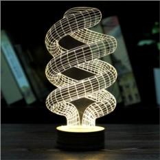 3D лампа Cпираль
