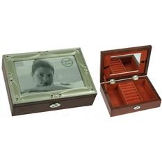 Шкатулка-фоторамка для ювелирных украшений Gems
