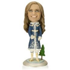 Кукла-шарж по фотографиям «Королева нового года»