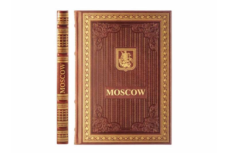 Книга «Москва» на английском языке
