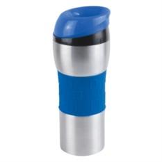 Синий вакуумный термостакан Донато 370 мл