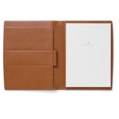 Кожаный письменный кейс GRAF VON FABER-CASTELL brown grained