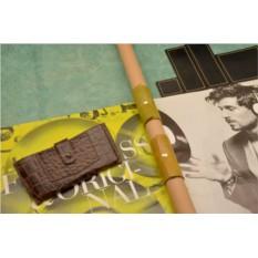 Кожаный чехол-кобура для iPhone 6 Plus «Последний рубеж»