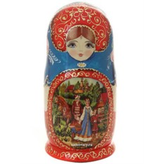 Набор русских матрешек Аленушка