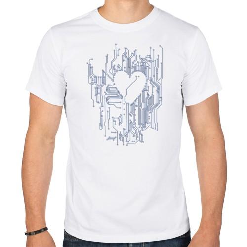 Мужская футболка Микросхема