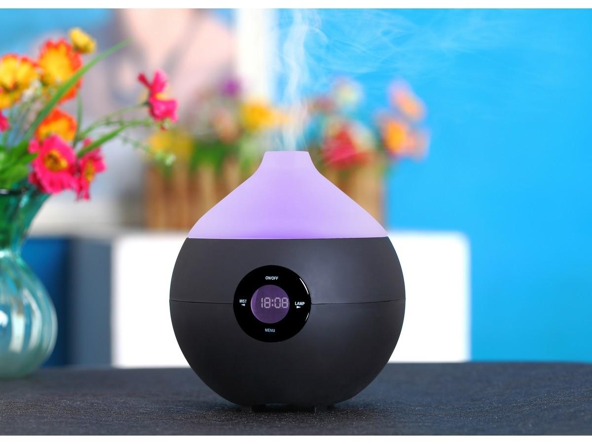 Черный ароматизатор-увлажнитель