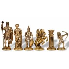 Металлический шахматный набор Античные войны