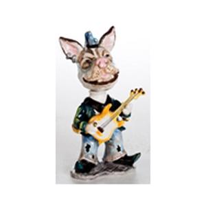 Керамическая статуэтка «Собака-рокер»