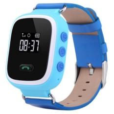 Голубые детские часы Smart Baby Watch Q60