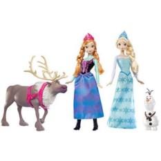 Набор кукол Анна и Эльза Frozen, Коллекция друзей Mattel