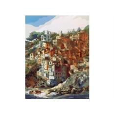 Картины по номерам «Гавань в Риомаджоре»
