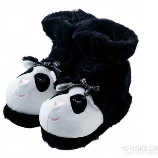 Тапочки-носочки Fun For Feet Панды