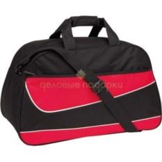Черно-красная спортивная сумка Fitness