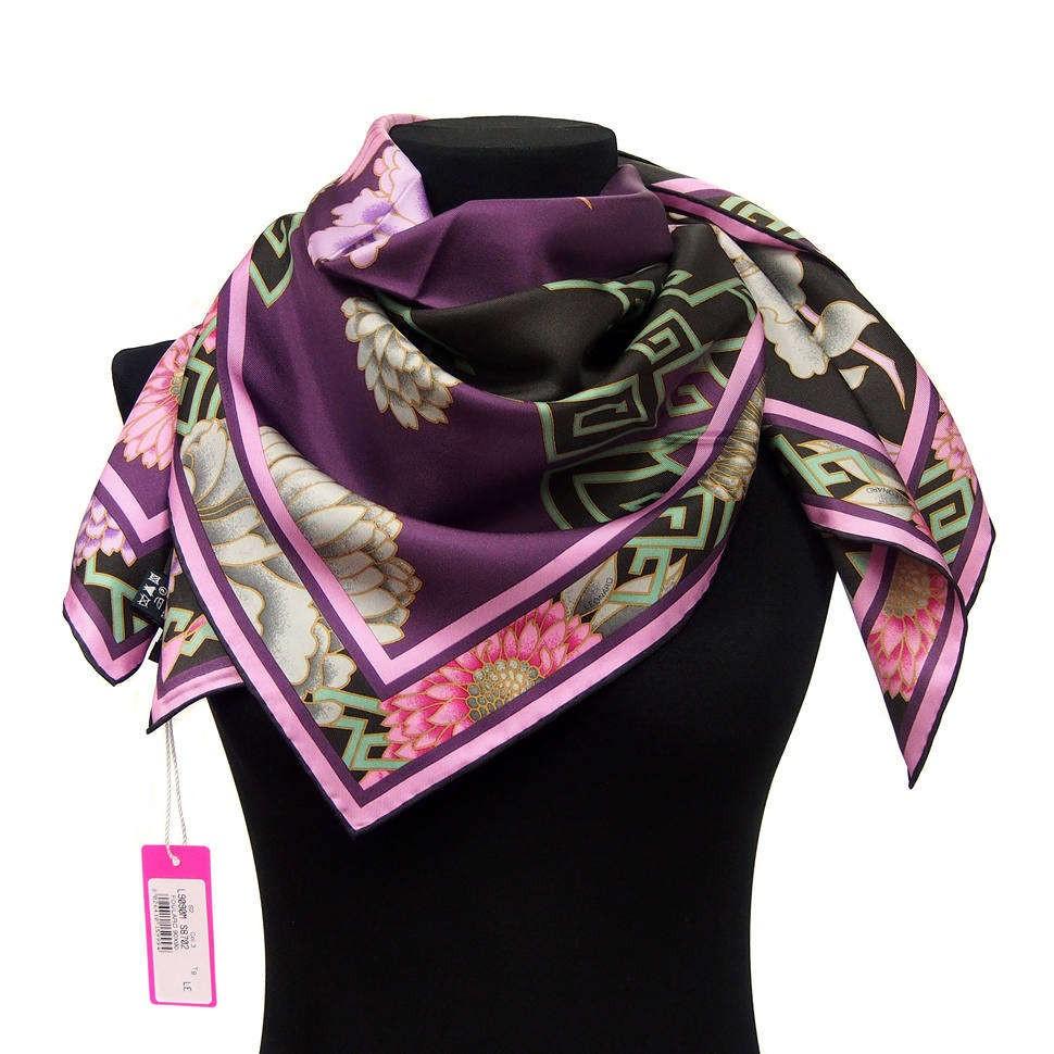 Винный платок с цветами  Leonard