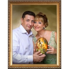 Супер-портрет на годовщину свадьбы