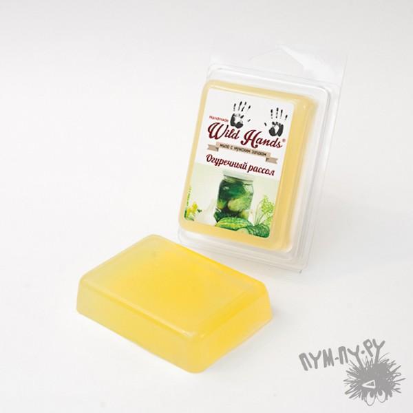 Мыло с мужским запахом Огуречный рассол