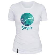 Женская футболка Скорпион