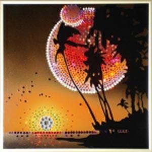 Картина из кристаллов «Закат»