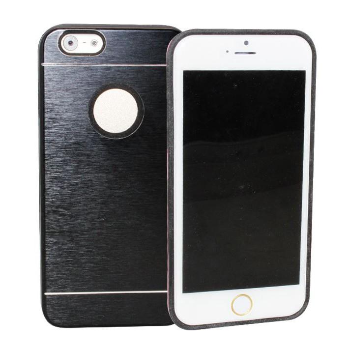 Черный чехол с отверстием для iPhone 6 Motomo